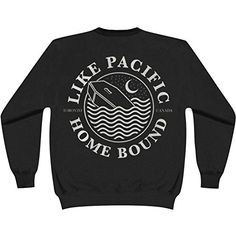 Like Pacific Men's Homebound Sweatshirt Black - http://bandshirts.org/product/like-pacific-mens-homebound-sweatshirt-black/
