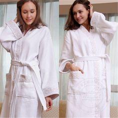 c8b4819291 High quality hotel terry bathrobe with emboridered logo. Weisdin Xiao ·  bathrobes