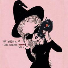 Witch Wallpaper, Wallpaper Ideas, Psy Art, The Worst Witch, Halloween Backgrounds, Halloween Wallpaper, Witch Art, Creepy Cute, Creepy Stuff