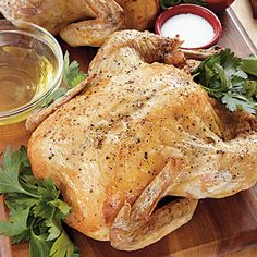 A good roasted chicken is like a little black dress--always appropriate and very versatile.