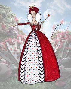 Alice in Wonderlands Queen of Hearts by Yigit Ozcakmak