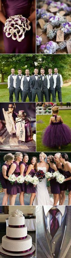 Perfect Plum Wedding Ideas and Inspiration