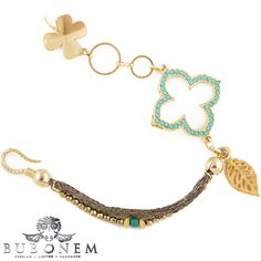 """Bubonem is now Airborne & ONLINE. This delicate braclete belongs to th """"Diverse Armbänder"""" collection. More joy and inspiration awaits you at www.bubonem.de"""