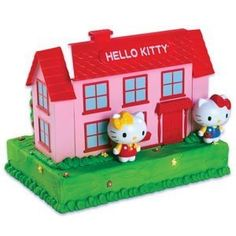 Hello Kitty House Cake Decorating Kit * Continue to the product at the image link.