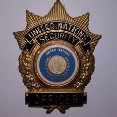 Security Officer, United Nations