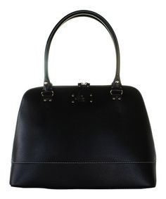 This Black Wellesley Rachelle Leather Shoulder Bag by Kate Spade is perfect! #zulilyfinds