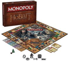 The Hobbit Trilogy Monopoly Game