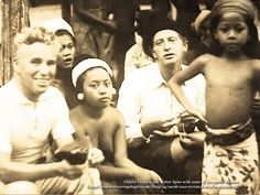 Walter Spies with Charlie Chaplin and Balinese dancers