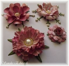 Handmade Paper Flowers Tutorial