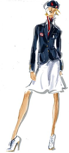 GOOD LUCK TEAM USA - wishing you many Gold medals from A BRIT GIRL Dressmesweetiedarling Ralph Lauren Uniforms For 2012 Olympics