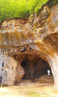 Les Combarelles is a cave in Les Eyzies de Tayac, Dordogne, France, which was inhabited by Cro-Magnon people approximately 13–11,000 years ago. Holding more than 600 pre-historic engravings of animals and symbols, the two galleries in the cave were crucial in the re-evaluation of the mental and technical capabilities of these prehistoric humans around the turn of last century.