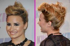 Mut zur Tolle! Demi Lovato zeigte sich mit dieser extravagenten Hochsteckfrisur! Von wem Sie sich da wohl inspirieren ließ?