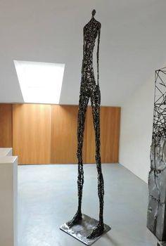 """Saatchi Art Artist Michele Rizzi; Sculpture, """"Deep contemplation ( Big, Star woman)"""" #art"""