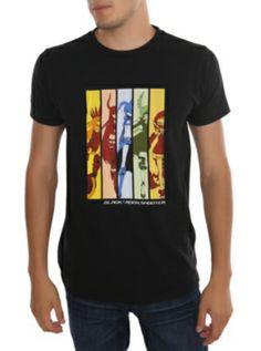 Black Rock Shooter Panels T-Shirt