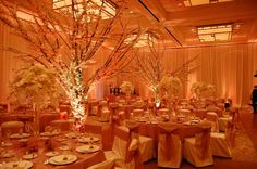 Complete Room Transformation for Flowerful Events