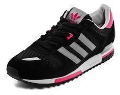 Adidas ZX 700 - Black / Grey / Pink   KicksOnFire