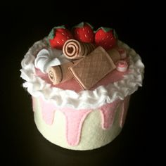 My felt cake
