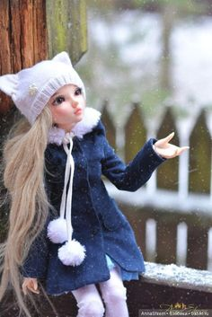 Один морозный зимний день / Другие BJD, шарнирные куклы БЖД / Бэйбики. Куклы фото. Одежда для кукол
