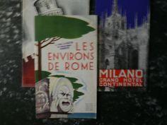 037 Les environs de rome printed by ENIT