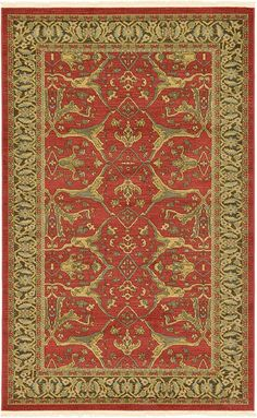 Unique Loom 3124747 Area Rug, 5 X 8, Multicolored -- Check out this great image  (This is an amazon affiliate link. I may earn commission from it)