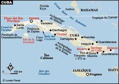 Cienfuegos, Varadero, Santa Lucia, Sites Touristiques, Florida, Bahamas, Lonely Planet, Belle Photo, Caribbean