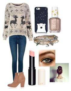 """""""#23"""" by andreea-ioa-na on Polyvore featuring NYDJ, River Island, Kate Spade, Aéropostale, Essie, women's clothing, women's fashion, women, female and woman"""
