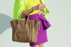 obsessed. gorgeous bag. and the brights are amazingg