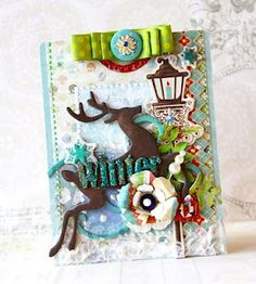 Xmas card layout