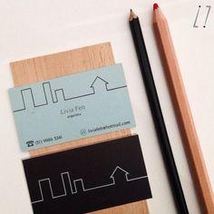 Cartão de Visitas por ¡hola!  #businesscard #graphicdesign