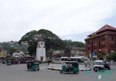 Die Stadt Kandy, Sri Lanka
