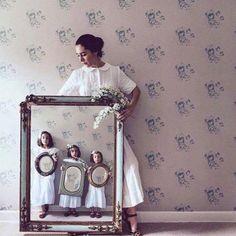 @sondeflor white classic dress