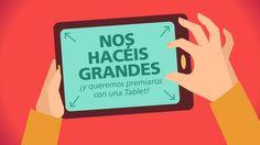 En @AsCancelas van a regalar una tablet. Te apuntas al sorteo?