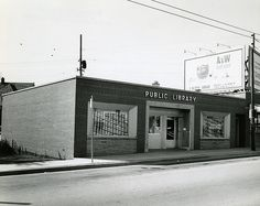 Jackson Park Library, Milwaukee, Wisconsin 1962