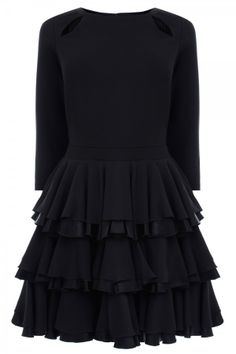 H&M Brocade Dress, £39.99 - Little Black Dresses You'll Wear Again And Again | InStyle UK