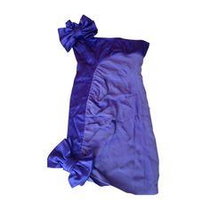 Robe mi-longue VALENTINO Violet, mauve, lavande