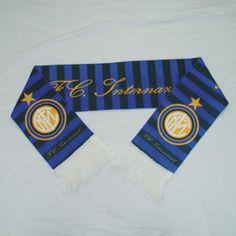 inter milan scarf/fan scarves Material: short plush Size: 150 * 18cm Packing: OPP
