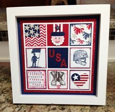 Home of the Brave themed blog hop. Stampin' Up!