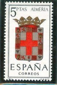 1962 España-Escudo de la Provincia de Almería