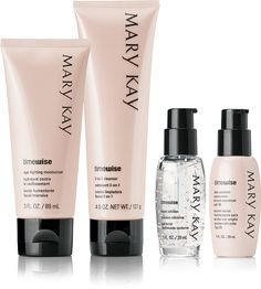 Check out the TimeWise range. Exclusively from #MaryKay. #AntiAgeing