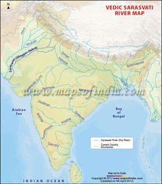 Sarasvati River Map