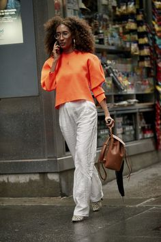 Elaine Welteroth/New York Fashion Week Spring New Fashion Trends, Fashion Editor, Fashion Week, New York Fashion, Street Fashion, Fashion Online, Teen Vogue, Trendy Outfits, Fashion Outfits