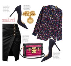 """""""Minime Might"""" by hattie4palmerstone ❤ liked on Polyvore featuring Kenzo, Jimmy Choo, Versace and Minime"""