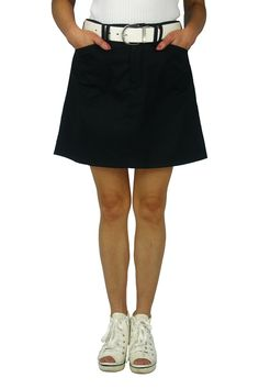 8238286fb0 Amazon.com  CaPantzzi Women s Stretch Low-rise Golf Skort- Black - 2   Clothing. Racquet SportsOutdoor ...