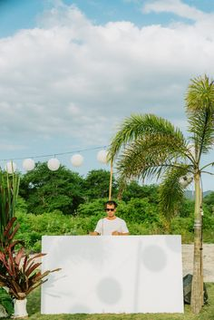 The sound of crashing waves mixed with the beats of Sydney DJ Jonny Powell, set the scene for the sunset beach party @ Selong Belanak Beach, Lombok, Indonesia. Read More on SMP: http://stylemepretty.com/vault/gallery/95979