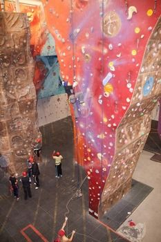 The largest indoor climbing Wall in Wales!