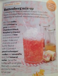 Battenburg mix - up - Must Try!