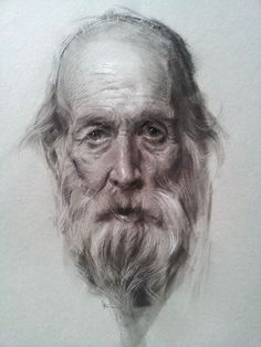 CHARCOAL PORTRAIT BY JEFF HEIN ARTIST SALT LAKE CITY.