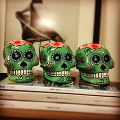 mexican skulls decor for spare bedroom