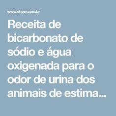 Receita de bicarbonato de sódio e água oxigenada para o odor de urina dos animais de estimação | eHow Brasil