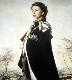 Queen Elizabeth, 1954/5, Annigoni